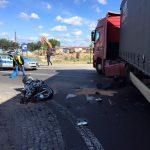 Śmiertelny wypadek w Wypędach. Nie żyje 29-letni motocyklista