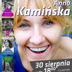 Spotkanie z Anną Kamińską w grodziskiej bibliotece