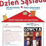 Dzień Sąsiada w Grodzisku Mazowieckim. Będą atrakcje dla dzieci, masaże regenerujące, dużo sportu i kabaret Łowcy B.