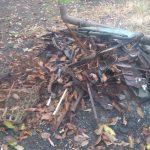 Spalali płyty odpady roślinne i budowlane. Straż miejska była bezlitosna