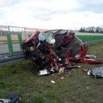 Śmiertelny wypadek w Radziejowicach [FOTO]