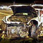 Poważny wypadek w Sękocinie. Jedna osoba ranna, luksusowe porsche do kasacji [FOTO]