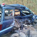 Śmiertelny wypadek w Nowym Karolinowie, zderzenie dwóch aut w Żyrardowie
