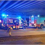 Dwa poważne wypadki w Łomiankach