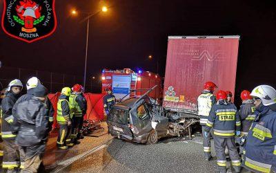 wypadek-autostrada-brwinow