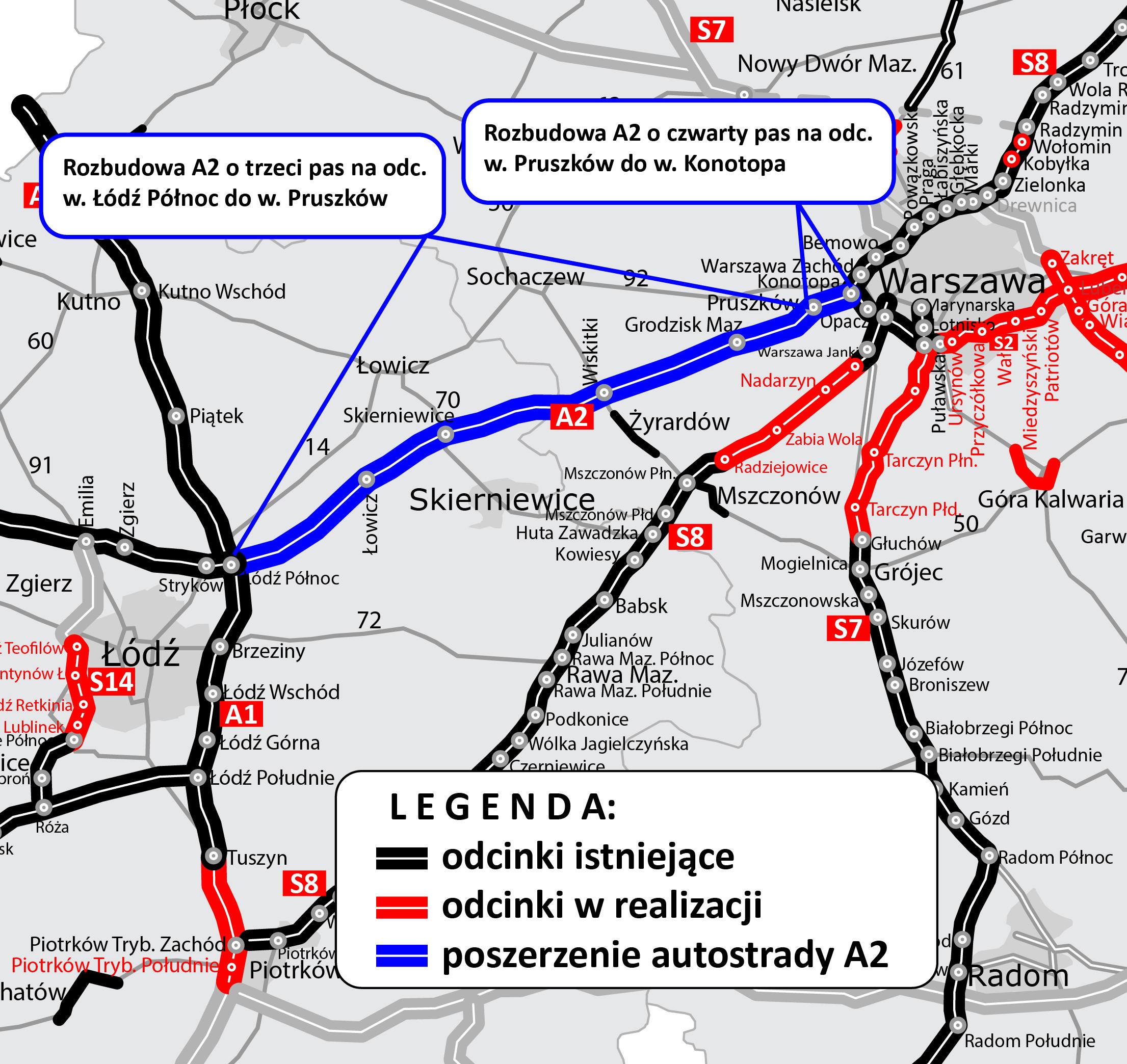 autostrada-a2-poszerzenie