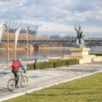 Skatepark, hamaki, WiFi i mnóstwo zieleni. Bulwary przy pomniku Syreny otwarte!