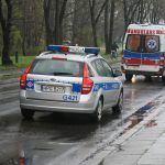 Atak na ratowników medycznych w Ożarowie