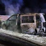 Pożary samochodów w powiecie żyrardowskim