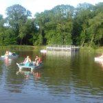 Rowery wodne atrakcją w Ołtarzewie