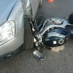 Koszmarny wypadek z udziałem motocyklisty [FOTO]