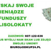 Odzyskaj pieniądze z funduszy inwestycyjnych i polisolokaty
