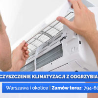 Serwis klimatyzacji Warszawa - czyszczenie i odgrzybianie klimatyzacji, naprawa i serwis