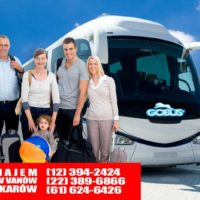 Wynajem busów Grodzisk Mazowiecki autokarów Pruszków Piaseczno tanio cennik przewóz osób z kierowcą