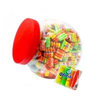 Zabawki z cukierkami, lizaki, gumy
