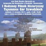 Piknik historyczny na Szwedzkich Górach