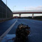 Śmiertelny wypadek na węźle Konotopa. Kobieta wypadła z auta
