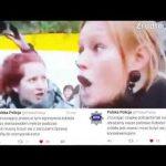 """Znieważyła policjanta podczas """"czarnego protestu"""", grozi jej więzienie"""