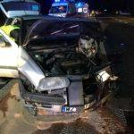Koszmarny wypadek w Bramkach. Trzy osoby ranne [FOTO]