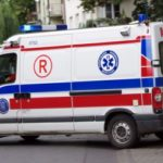 Makabryczny wypadek w Grodzisku. Mężczyzna wpadł pod ciężarówkę, wlokła go przez kilkaset metrów