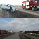 Trzy niebezpieczne wypadki na S8 i drodze krajowej nr 50