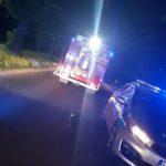 Dramatyczny wypadek pod Ożarowem Mazowieckim. Auto wjechało w grupę rowerzystów