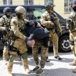 Podejrzany o zabójstwo Rosjanin zatrzymany pod Nadarzynem [FOTO, WIDEO]