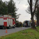 Trzy poważne wypadki w Grodzisku i Osowcu. Trzy osoby ranne, jedna nie żyje