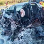 Kolejny śmiertelny wypadek pod Radziejowicami. Fatalny długi weekend w całym powiecie [FOTO]