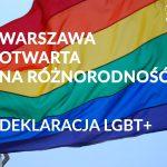 Prezydent Warszawy podpisał Deklarację LGBT+. Co zyska środowisko? [POSTULATY]