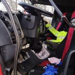 """Trzy wypadki w Błoniu i w okolicach Ożarowa. Samochód sam """"poinformował"""" służby o zdarzeniu! [FOTO]"""