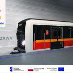 Nowe pociągi dla warszawskiego metra