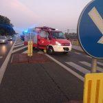 Dwa poważne wypadki w powiecie warszawskim zachodnim. Nie żyje mężczyzna potrącony przez kombajn