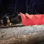 Śmiertelny wypadek na drodze krajowej nr 92 [FOTO]