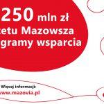 250 mln zł na programy wsparcia od samorządu Mazowsza