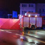Tragiczny wypadek w centrum miasta. Nie żyje 21-latka [FOTO]